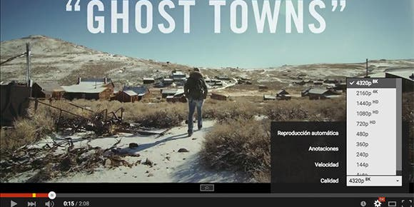 """Ghost Towns"", el primer video en 8K dentro de YouTube"