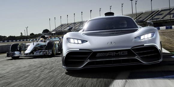Mercedes-AMG Project One, el Formula 1 de calle