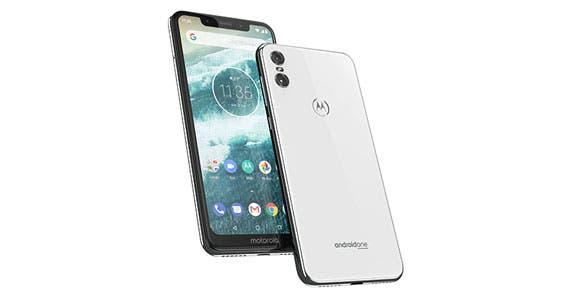Motorola One en color blanco, en exclusiva con AT&T
