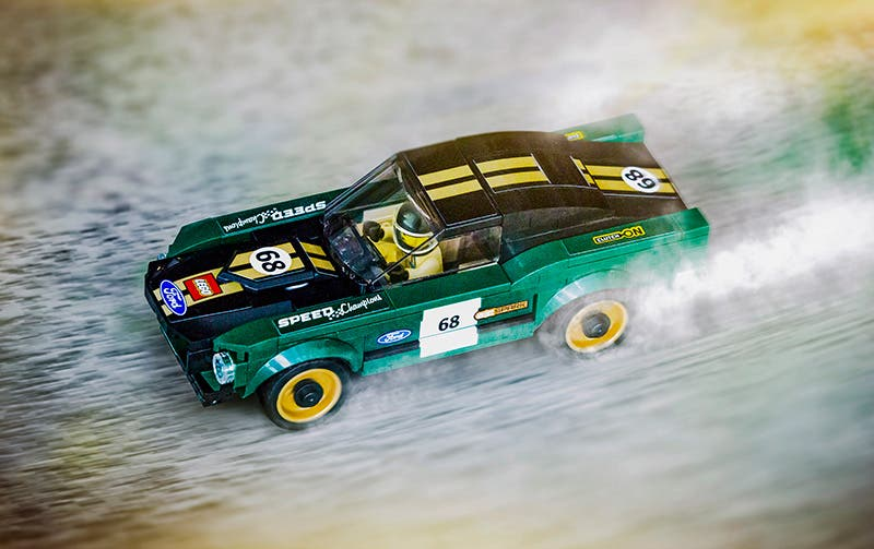 Mustang Fastback 1968 de LEGO Speed Champions
