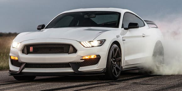 El poderoso Mustang Shelby GT350R de Hennessey Performance