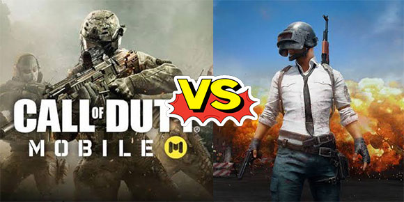 #Versus: Call Of Duty Mobile vs PUBG Mobile