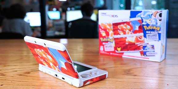 #Unboxing: New Nintendo 3DS #Pokémon20