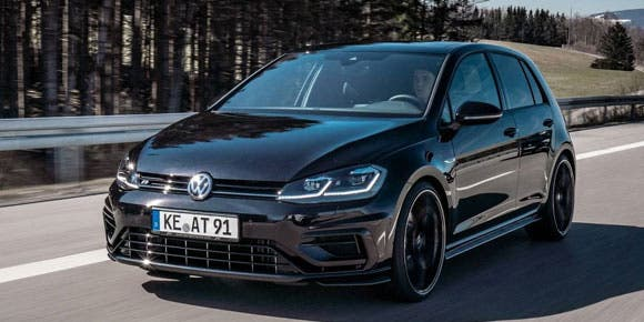 El Volkswagen Golf R modificado por ABT Sportsline ofrece 350 hp
