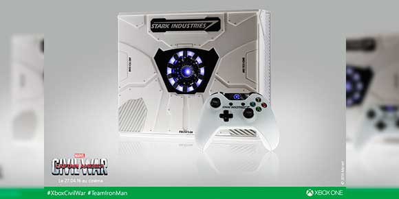 Stark Industries diseña exclusivo Xbox One