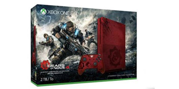 Microsoft confirma Xbox One S de Gears of War 4
