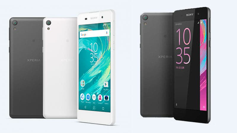 sony mobile presenta el nuevo xperia e5. Black Bedroom Furniture Sets. Home Design Ideas