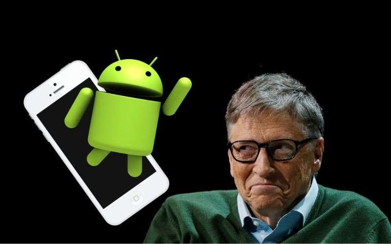 Bill Gates prefiere Android pero ¡usa iPhone!