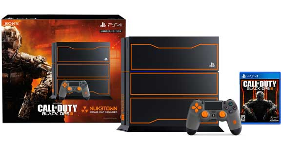 Anuncian bundle de PS4 y Call of Duty: Black Ops III