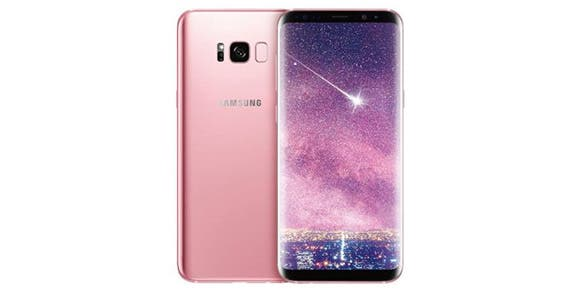 Samsung lanza un Galaxy S8+ color rosa
