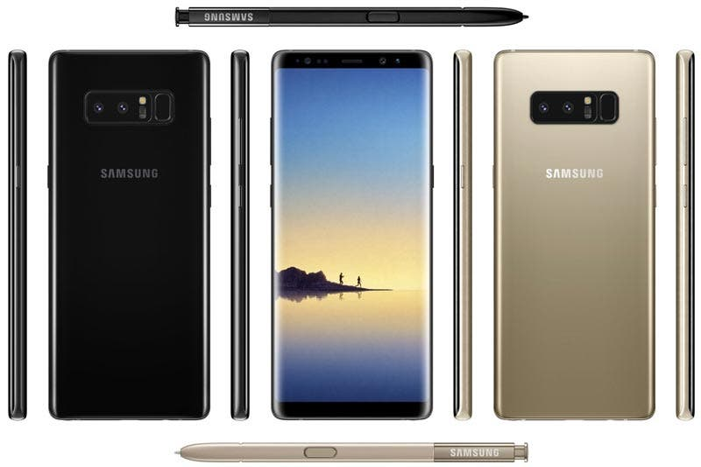 Galaxy Note 8: filtran fotos reales del nuevo smartphone de Samsung