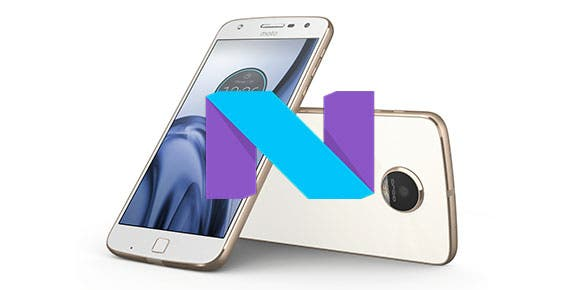 Moto Z Play actualiza a Android Nougat