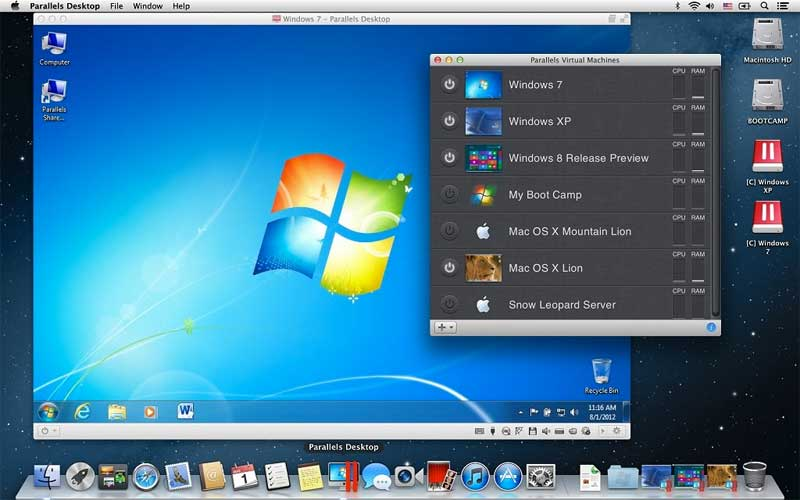 maquina virtual para correr mac en windows