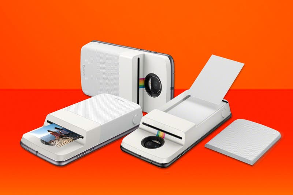 Motorola vuelve con impresora de fotos incorporada