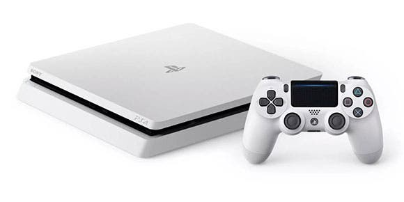 Sony anuncia el PlayStation 4 Slim en color Glacier White