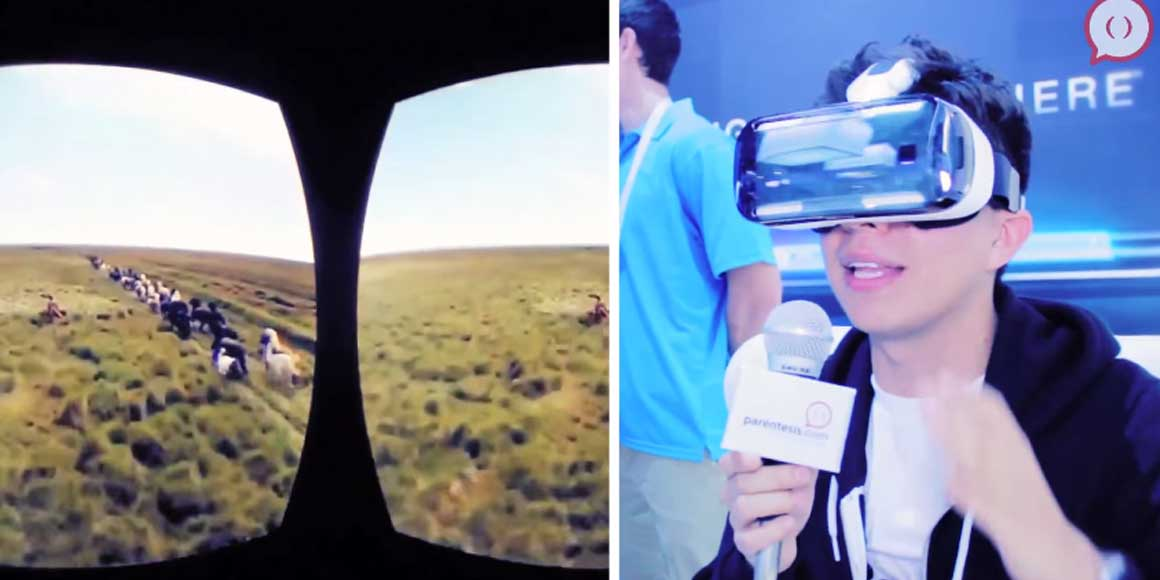 Video: Samsung Gear VR desde el CES 2015
